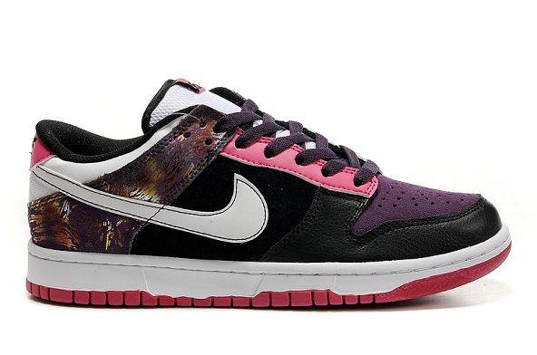 super popular 67937 8934b Mens Nike Dunk SB Low Shoes 6.0 Purple Pink Black [nike04-0387 ...