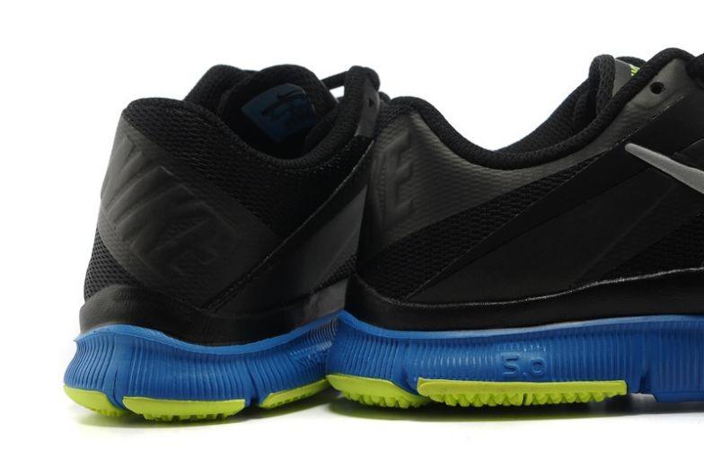 designer fashion 42d05 01ba3 Mens Nike Free Trainer 5.0 V3 Black Royal Volt Training ...