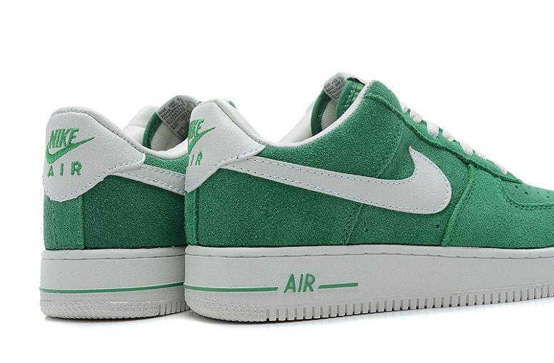 mieux aimé c3ae6 8711c Nike Air Force 1 Low Suede Mens Shoes Vert Voilet White ...