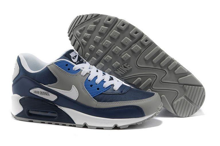 buy popular 711c9 9f444 Nike Air Max 90 Essential Mens Trainers Obsidian Wolf Grey ...