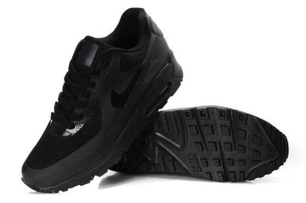 0ebf56fc0118ed Nike Air Max 90 Hyperfuse Premium Mens Shoes Blackout .