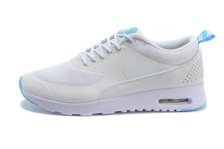 site réputé dba64 ff66a Nike Air Max Thea Womens Trainers White Teal Blue [nike04 ...