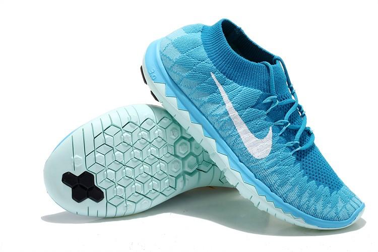 4b28af049b19 ... cheap nike free 3.0 flyknit womens running shoes blue jade f61f2 47564  ...