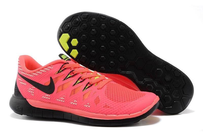 the best attitude baf8f 09303 Nike Free 5.0 2014 Men s Running Shoe Pink Black Volt