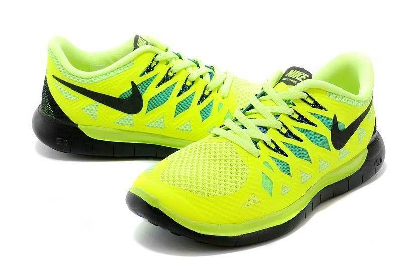 lowest price 395ef 9a027 Nike Free 5.0 2014 Men's Running Shoe Volt Black Blue ...