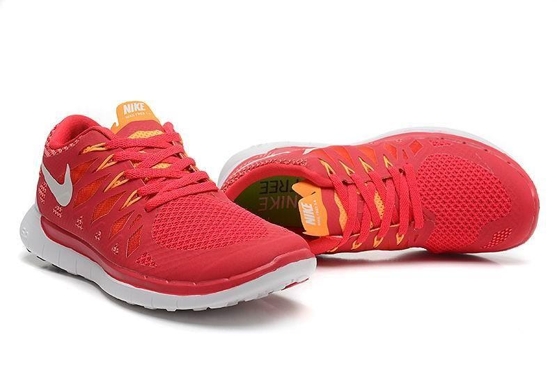 best website d9523 033ca Nike Free 5.0 2014 Women's Running Sneakers Legion Red Laser ...