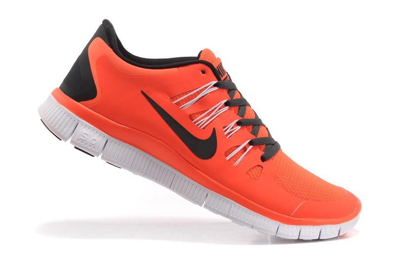 203f6258e8a59 Nike Free 5.0 Mens Orange Black Running Shoes  nike04-0592  -  49.59 ...