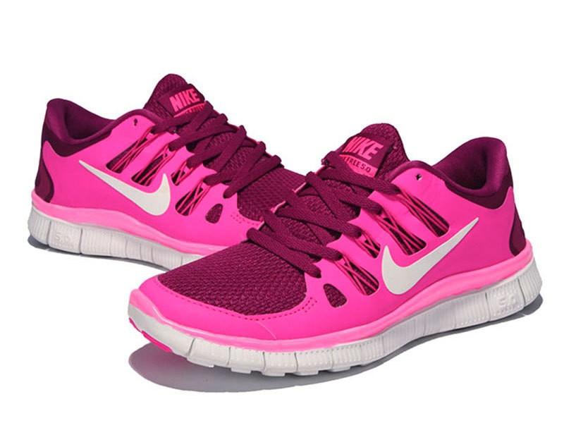 ... ireland nike free 5.0 womens pink purple running shoes a4c28 f171d ... ce4fbf285