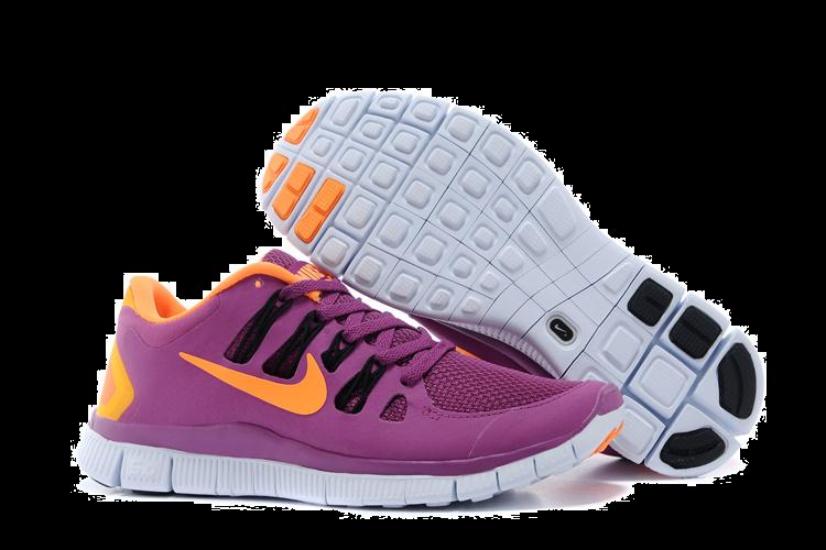 nouvelle arrivee c740d 2c066 Nike Free 5.0 Womens Purple Orange Running Shoes [nike04 ...