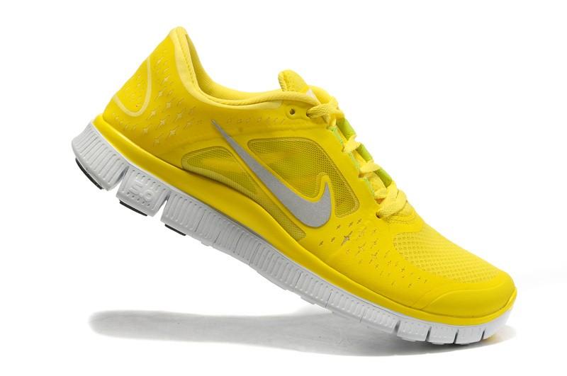 release date 1936e fc0e8 ... Nike Free Run+ 3 Men  s Running Shoe Yellow Silver ...