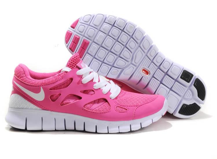 info for 9eda3 28e7b Nike Free Run 2 Womens Running Shoes Pink White