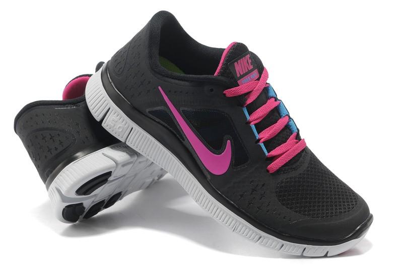 cf1710977018 Nike Free Run 3 Womens Running Shoes Black Peachblow  nike04-1108 ...