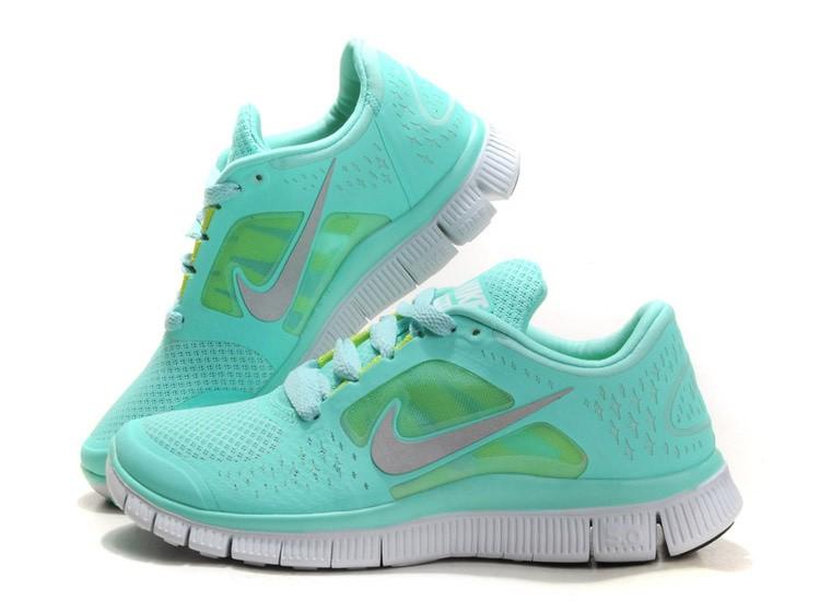 mint green nike free 5.0 Free run 3 5.0 shoe size white ... b182cbf9e
