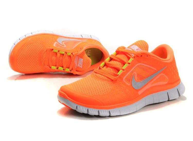 sports shoes 65ef7 ba94a ... low cost nike free run 3 womens running shoes vivid orange 36db6 56d22