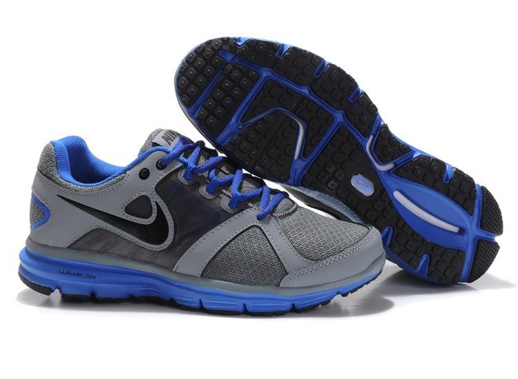 8c110a79de0f Nike Lunar Forever 2 Mens Grey Royalblue Running Shoes  nike04-0869 ...