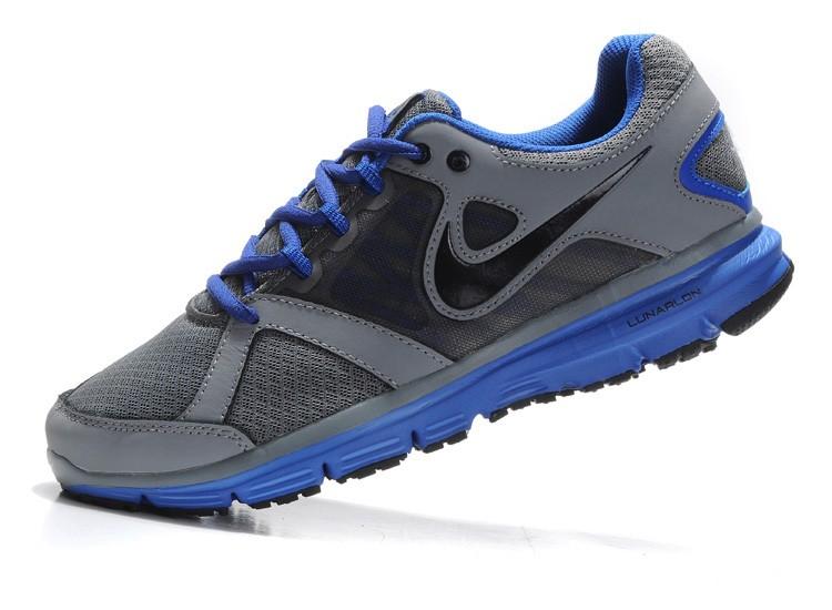 2aa1d4b3e6cd3 Nike Lunar Forever 2 Mens Grey Royalblue Running Shoes  nike04-0869 ...