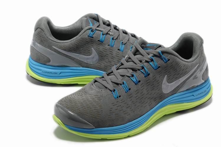 size 40 ac0f1 de493 ... Nike Lunarglide 4 Mens Running Shoes Gray Jade ...