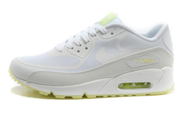 8b01cefacf28b ... Womens Nike Air Max 90 Premium Tape Runinng Shoes Glow In The Dark ...