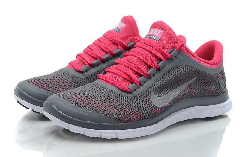pretty nice a7c93 32eaf ... femme nike 57d13 2edb5 cheap womens nike free 3.0 v5 dark grey white  pink running shoes c0b47 f6a78 switzerland nike flyknit lunar 3 ...